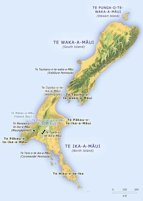 Māui i Aotearoa