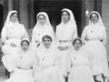 New Zealand nurses in Apia, Samoa, during the First World War