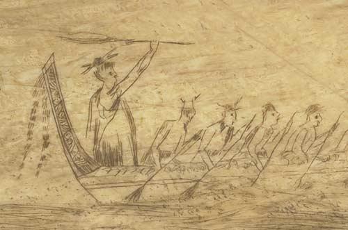 Whaler's view of Māori