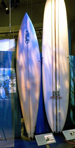 Board with Tangaroa motif