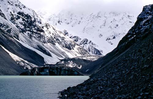 The Ramsay glacier