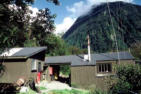 Boatshed Hut, Milford Track, Fiordland
