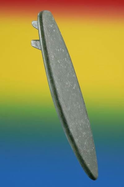 Flax fibre surfboard