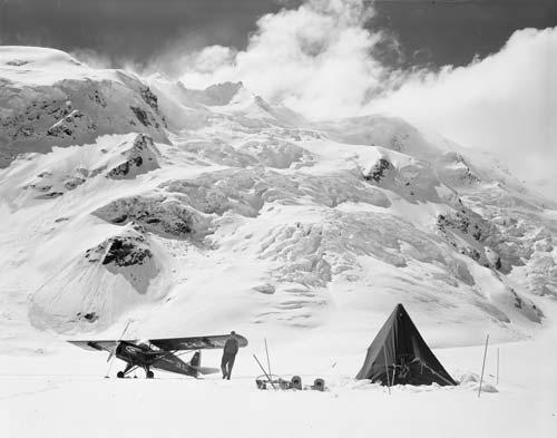 Skiplane, Tasman Glacier