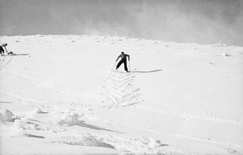 Climbing the slopes