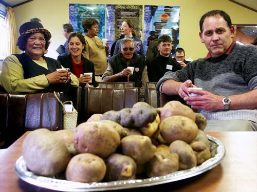 Taewa (Māori potatoes)