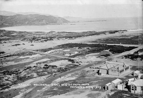 Lyall Bay, 1909