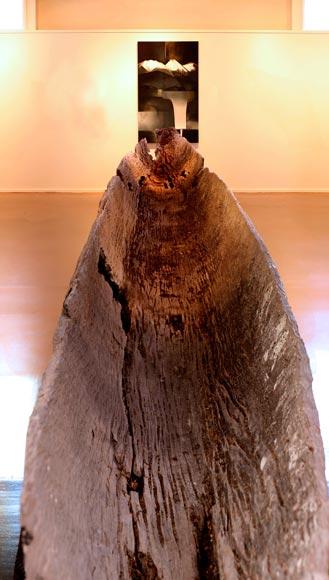 Ancient canoe