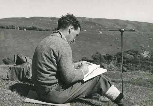 Harry Gibbs, soil scientist