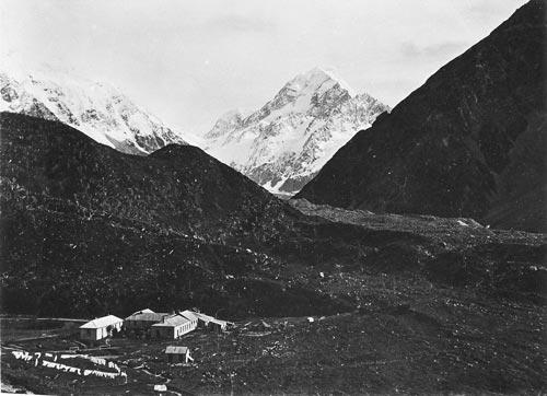 The first hotel, Aoraki/Mt Cook