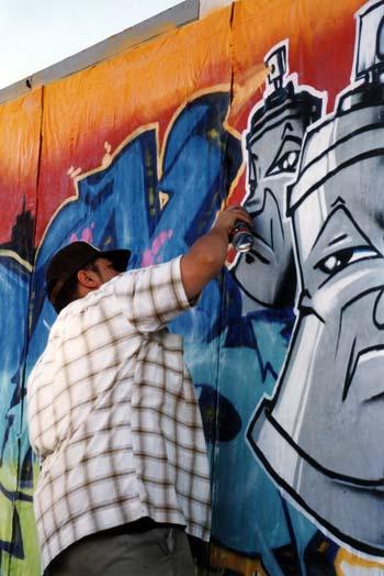 Tohunga graffiti, Te Whanganui-a-Tara, 2004