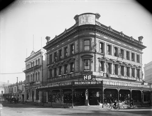 Hallensteins, Christchurch