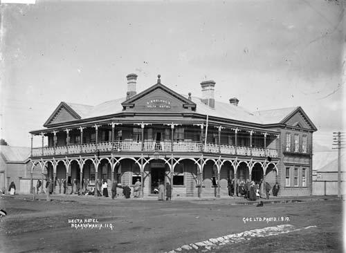 Delta Hotel, Ngāruawāhia, 1910