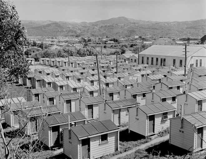 Single men's huts, Gracefield