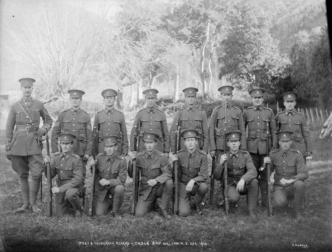 Post and Telegraph Guard, 1914