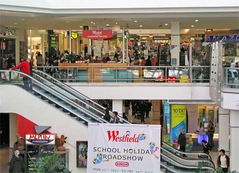 Westfield St Luke's shopping centre, Auckland, 2004