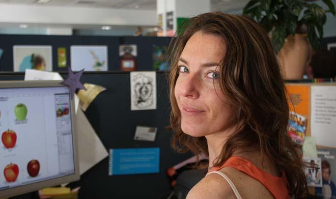 Julia Vodanovich, graphic designer