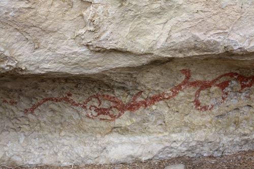 Māori rock art