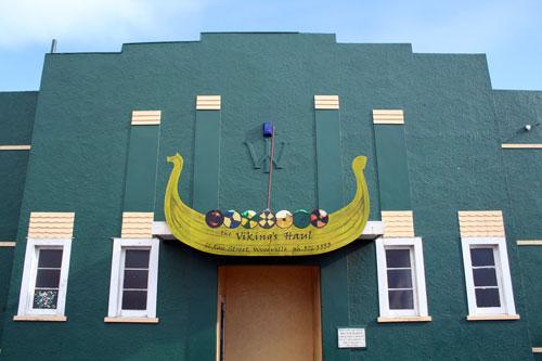 Viking ship, Woodville