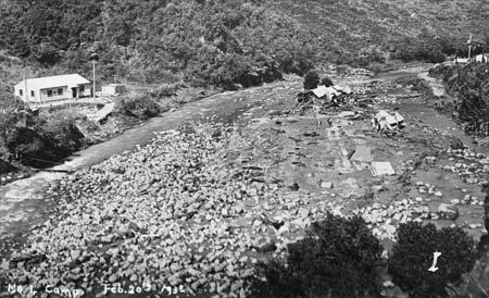 Flash flood, Kōpuawhara Stream, 1938
