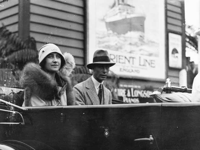 Duke and Duchess of York, 1927