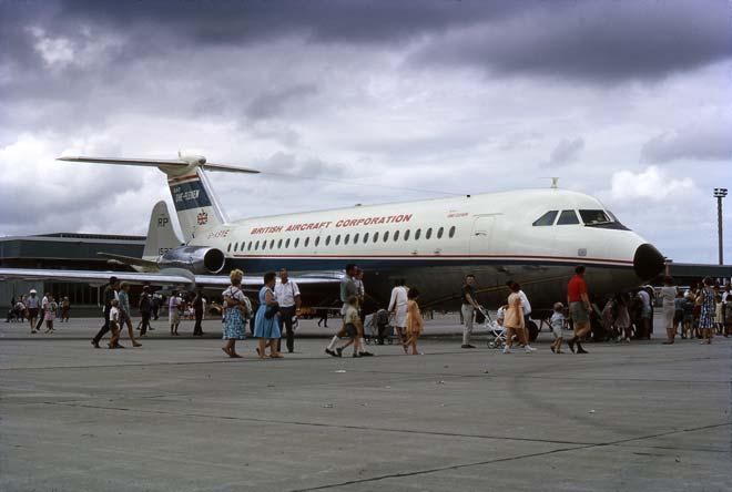 BAC 1-11, Auckland international airport, 1966