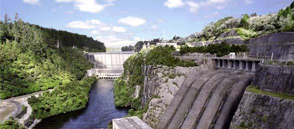 Maraetai hydroelectric station