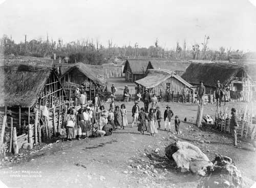 Parihaka, 1880s