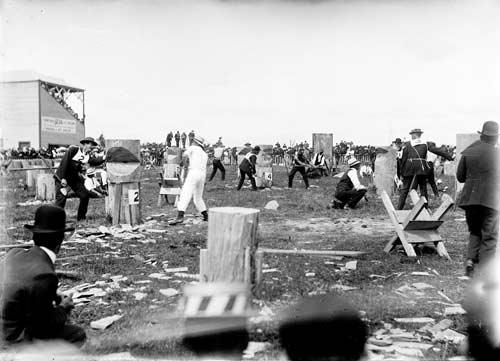 Axemen's carnival, 1915