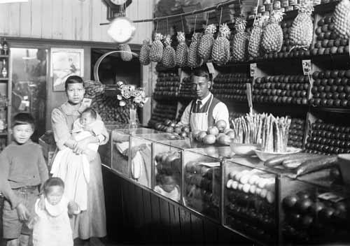 Chinese greengrocer