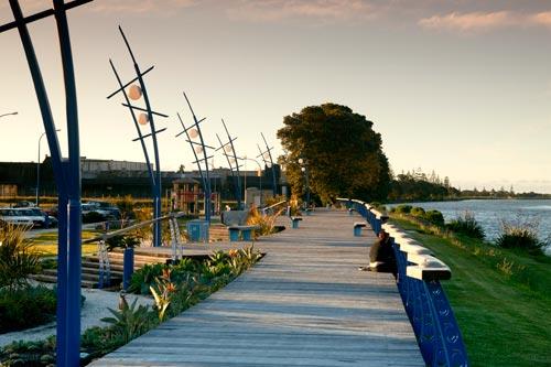 Waitara bridge gardens