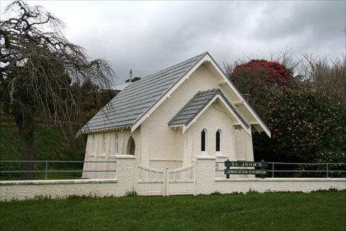St John's Peace Memorial Church, Kaimata