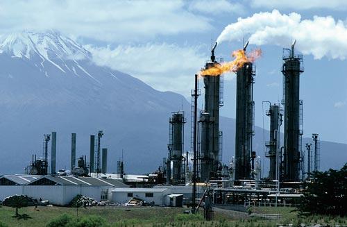Kapuni gas production station