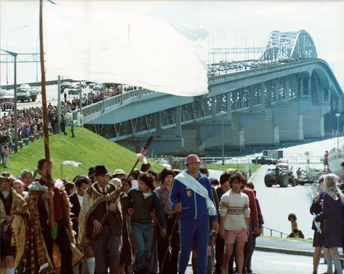 Māori land march, 1975