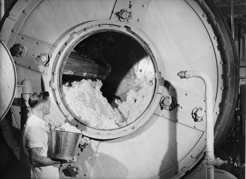 A bucket of salt