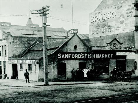 Sanford's fish market