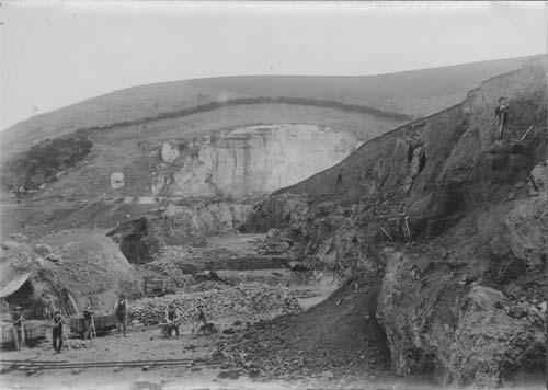 Milburn phosphate quarry