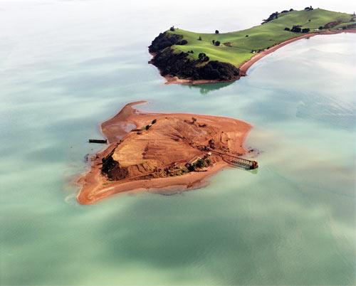 Kāramuramu Island quarry