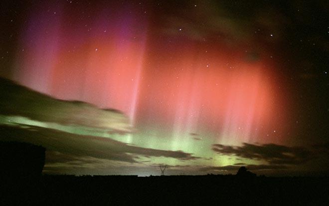 Aurora australis, Invercargill