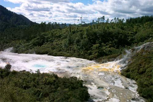 Hot springs, Ōrākei Kōrako