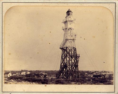 Wooden lighthouse, Farewell Spit