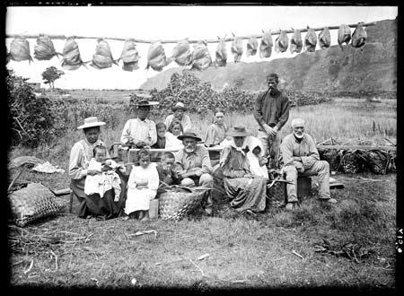 Fishing group, Whangaroa