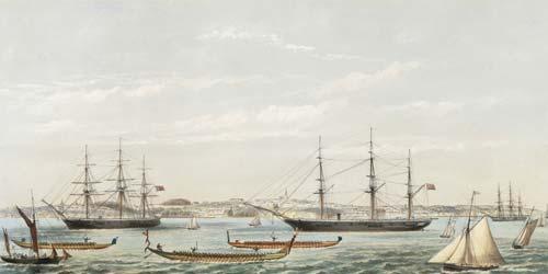 Auckland regatta, 1862