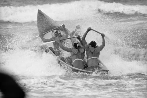 Surf canoe