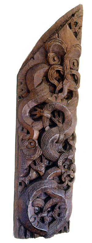 He whakairo i te tauira marakihau