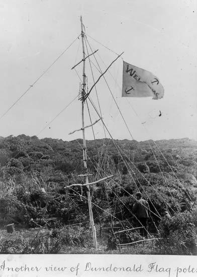Dundonald flagpole
