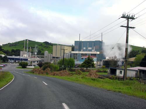 Maungaturoto dairy factory