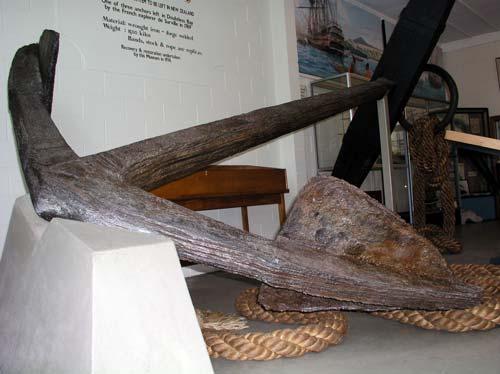 An ancient anchor