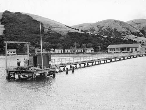 Wharf at Otehei Bay