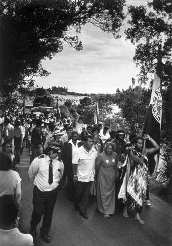 Waitangi protest